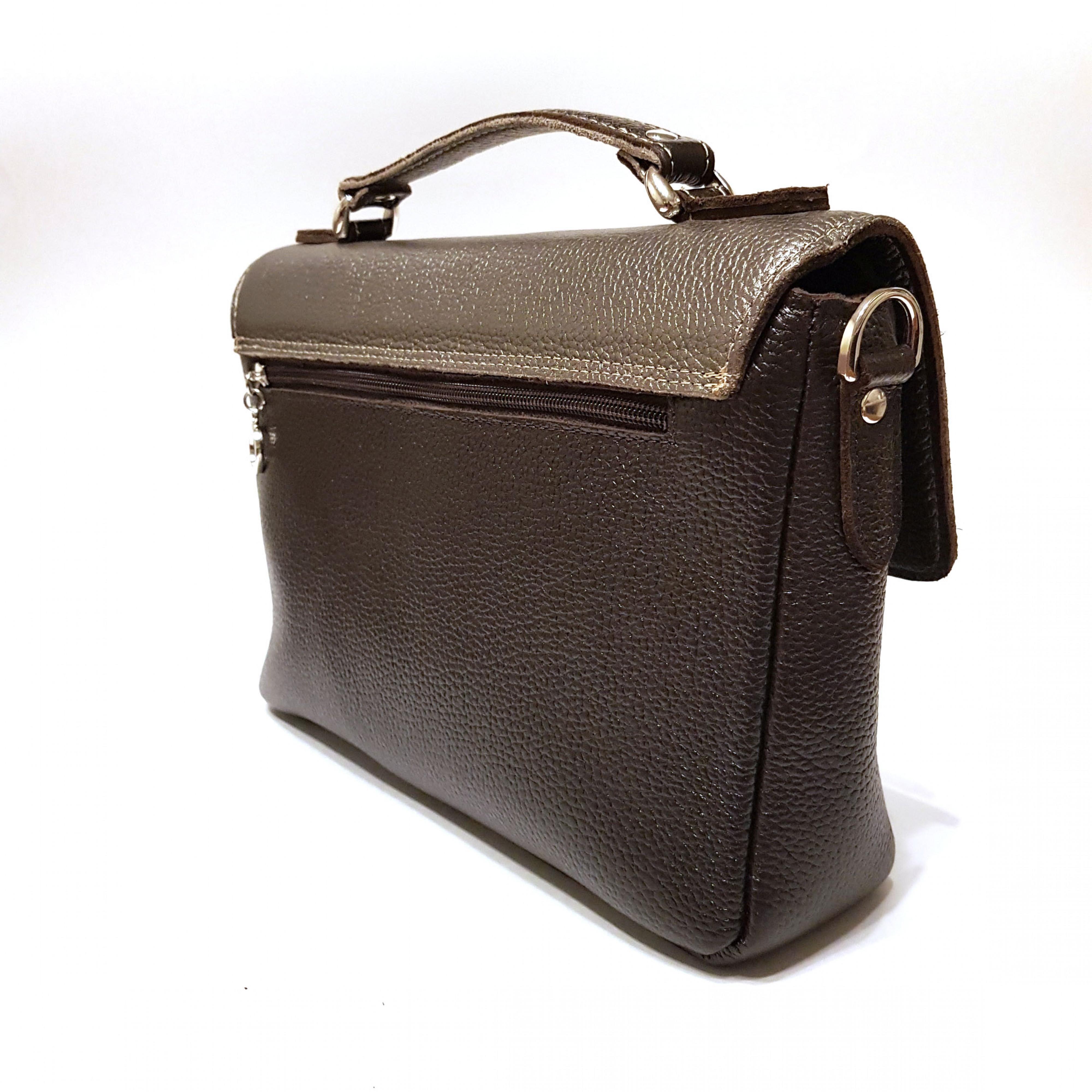 сумка женская из натуральной кожи арт.137.